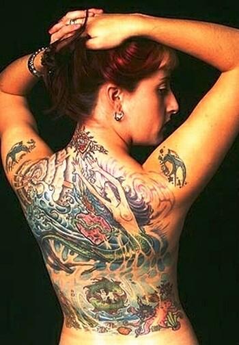 интимные татуировки девушек