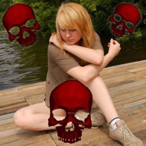 skull-girl