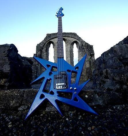Metallica Ninja Logo Bass