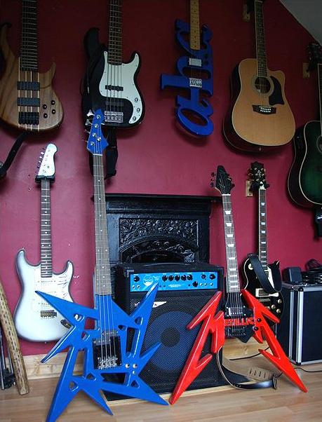 Дизайнерские гитары Kevin Deane