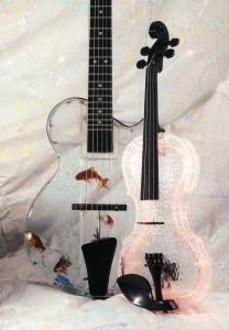 Гитара - садок для рыбы