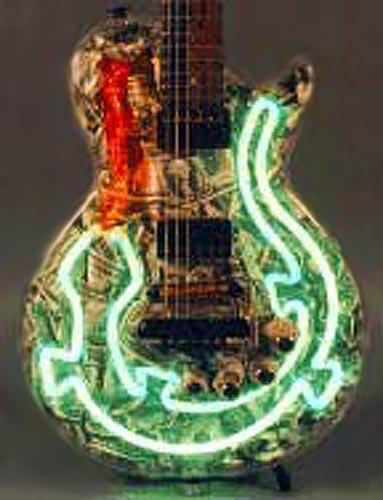Гитара-Ящерица