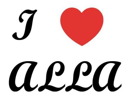 I love Alla