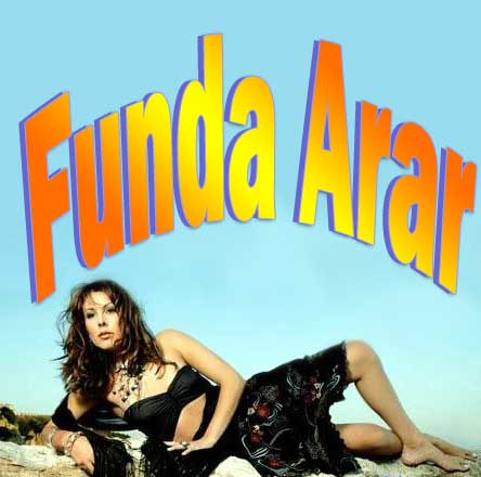 Funda Arar Turkish Singer