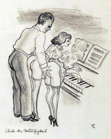 Игра на пианино в 6 рук