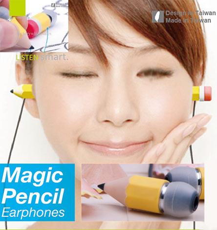 Наушники волшебный карандаш